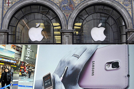 Apple awarded $290m in Samsung patent case | Marketing | Scoop.it