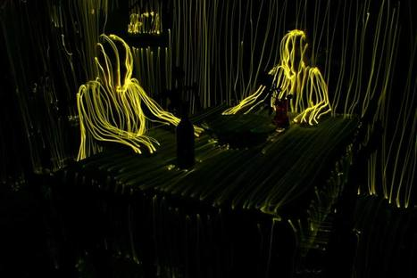 Topographic Light Painting Maps Rooms and People in 3-D | house painting | Scoop.it