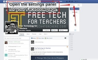 Free Technology for Teachers: 5 Settings You Should Know for School or Classroom Facebook Pages | Literacy in the News (but not CCSS) | Scoop.it