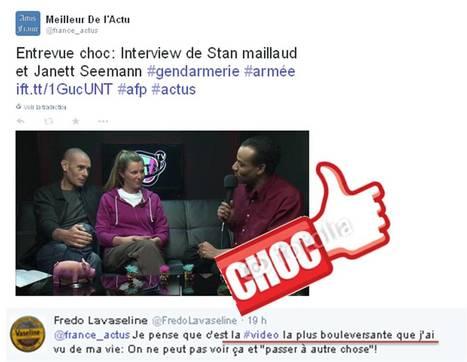 Le meilleur de l'actualité: Entrevue choc: Interview de Stan maillaud et Janett Seemann #gendarmerie #armée | Toute l'actus | Scoop.it