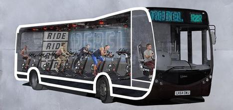 Ce bus se transforme en salle de gym pour faire du sport en voyageant | Mind Mapping  et créativité au Maroc | Scoop.it