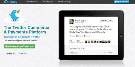 Pay by Tweets with Chirpify | Payments 2.0 | Scoop.it