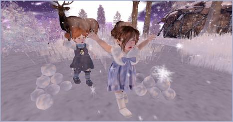 Snowball Fight!   亗 Second Life Kids Lookbook 亗   Scoop.it
