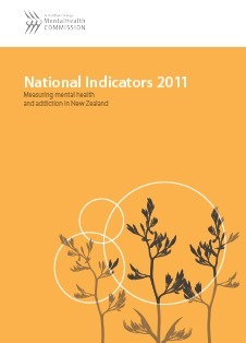 The National Indicators 2011: Measuring Mental Health and Addiction in New Zealand | Alcohol and Other Drug Infographics | Scoop.it