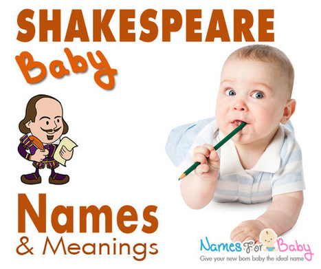 Shakespeare baby names - Shakespearean boy and girl names | The Name Meaning & Baby World | Scoop.it