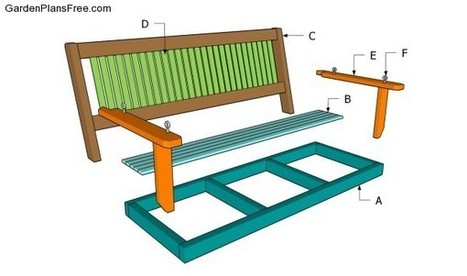 Porch Swing Plans Free | Free Garden Plans - How to build garden projects | Garden Projects | Scoop.it