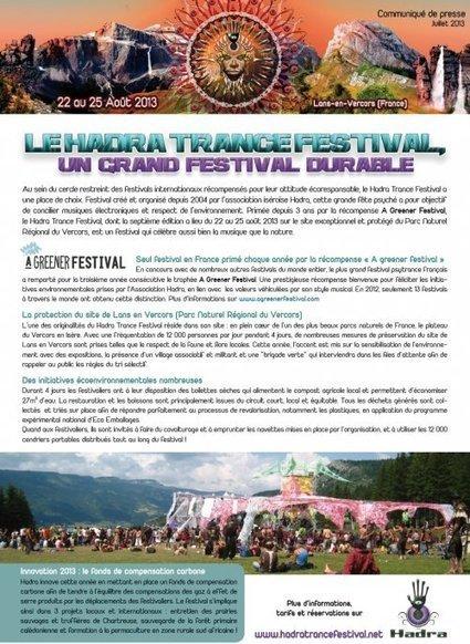 Le Hadra Trance Festival, un grand festival durable | Economie Responsable et Consommation Collaborative | Scoop.it