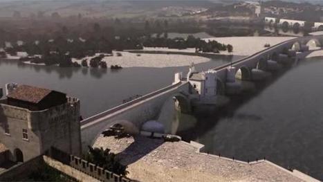 Insolite. A quoi ressemblait le pont d'Avignon au Moyen Âge? | UseNum - Culture | Scoop.it