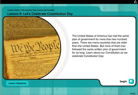 Let's Celebrate Constitution Day | K-12 Web Resources - History & Social Studies | Scoop.it
