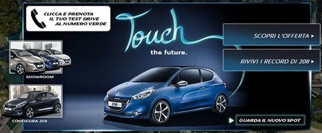 Con Cool To Call fai il test drive della nuova Peugeot 208 | InTime - Social Media Magazine | Scoop.it