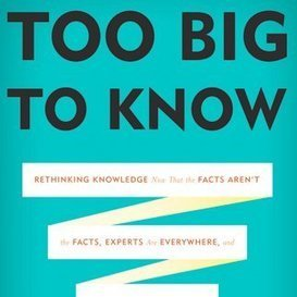 Too Big to Know: David Weinberger explains how knowledge works in the Internet age | Librarianship & More | Scoop.it