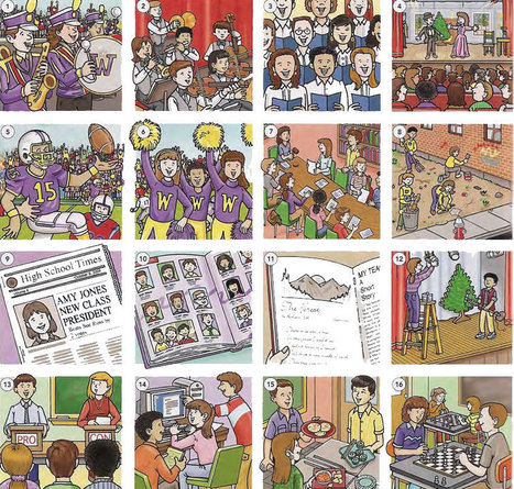 After school activities vocabulary list PDF - Learning English vocabulary and grammar | Learning Basic English, to Advanced Over 700 On-Line Lessons and Exercises Free | Scoop.it