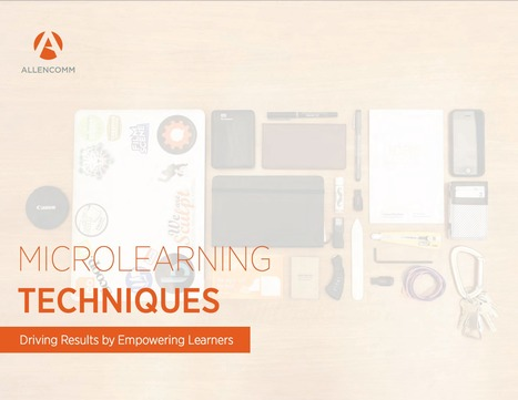 [PDF] Microlearning Techniques | El rincón de mferna | Scoop.it