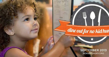Go Orange To Raise Awareness for No Kid Hungry #NoKidHungry | Children with Hunger | Scoop.it