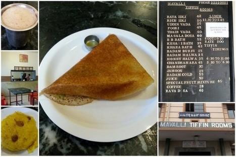 MTR (Mavalli Tiffin Rooms), Bangalore - Restaurant Review, Food, Menu | Travel | Scoop.it