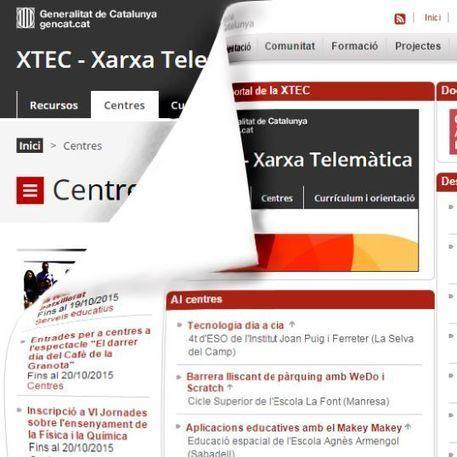 Nou portal XTEC - Xarxa Telemàtica Educativa de Catalunya | GITIC | Scoop.it