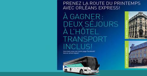 Orléans Express : Billetterie en ligne, tarifs et horaires d'autobus | NYC Quebec Trucs utiles | Scoop.it