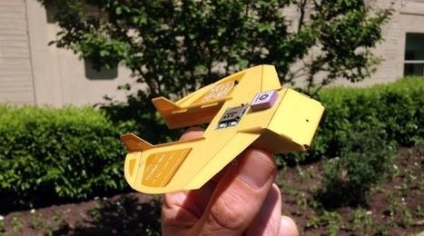La «cigale», le petit drone américain qui tient dans la main | Une nouvelle civilisation de Robots | Scoop.it