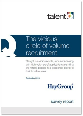 New research on volume recruitment | Talent Q | Video Interviewing | Scoop.it