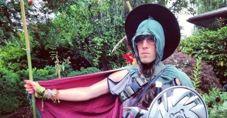 An Exclusive Interview With the Elf Who Dropped Acid and Jousted a Car #StrangerThanFiction | The Sword Crime Blotter | Scoop.it