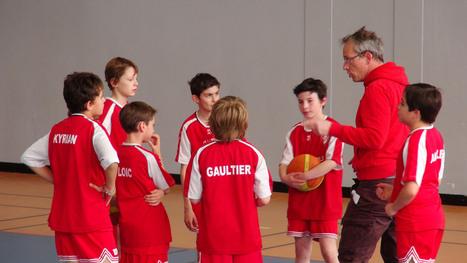 Poussins 1 et c'est une victoire | Site officiel de la Jeunesse de Croissy - Section BasketBall | Chatou | Scoop.it