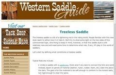 Treeless Saddle | Saddlery | Scoop.it