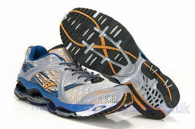 Mizuno Wave Prophecy Mens Running Shoes 8KN 11502 Sliver Blue White.jpg (465x309 pixels)   fashionshoes   Scoop.it