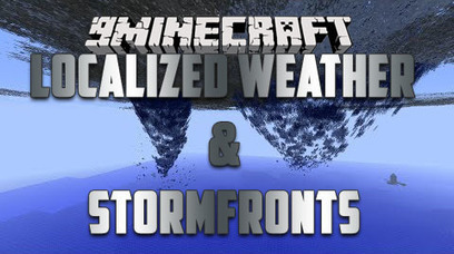 Localized Weather & Stormfronts Mod 1.10.2 | My Pin | Scoop.it
