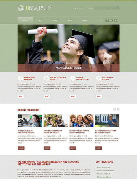 Top Trends In Educational Website Design | FlashMint Blog | Educational Institution | Scoop.it