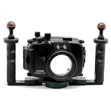 X100s underwater  Meikon Digital Technology | Fujifilm X Series APS C sensor camera | Scoop.it