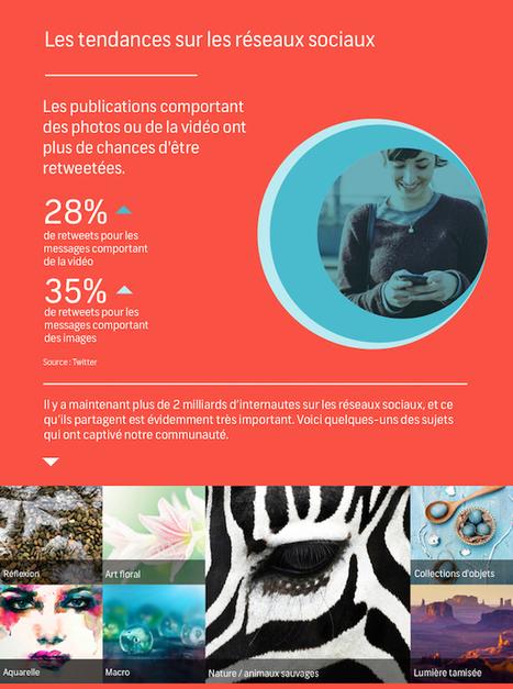 #Webdesign : Flou ou dessin vectoriel ? Découvrez les tendances visuelles de l'année 2015 - Maddyness | Actualité du marketing digital | Scoop.it