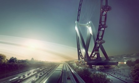 UNStudio Envisions GIANT Observation Wheel in Japan | The Architecture of the City | Scoop.it