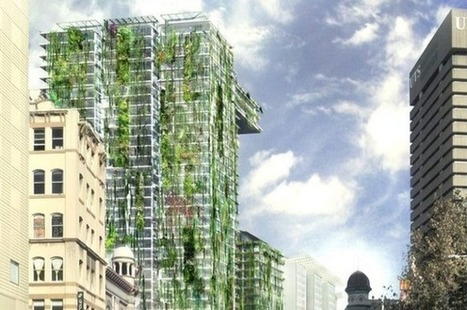 The World's TALLEST Vertical Garden Is Like a Niagara Falls of Plants | The Architecture of the City | Scoop.it