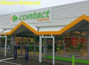 Les premières images de Carrefour Contact Marché / Rayon Boissons - Le magazine des boissons en grande distribution | Déclencher l'achat - Shopper marketing | Scoop.it