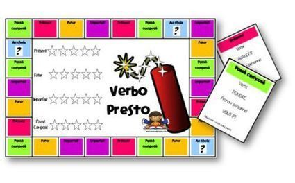 Verbo-presto - jeux sur la conjugaison | Conny - Français | Scoop.it