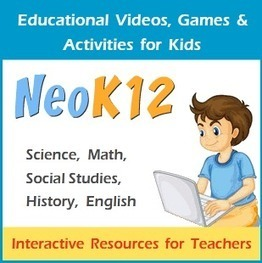 Educational Videos and Games for Kids about Science, Math, Social Studies and English | etoolbox | Scoop.it