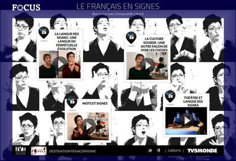 Le français en signes | Remue-méninges FLE | Scoop.it