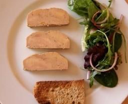 Condrieu 2009 d'E Barou et foie gras mi-cuit au poivre at Chemins Vignerons | oenologie en pays viennois | Scoop.it