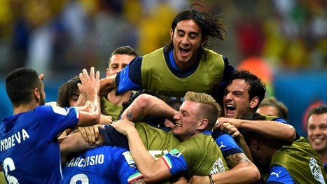 Italy secure slim win over England | FIFA World Cup Brazil 2014 | Scoop.it