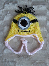 Crochet Minion Despicable Me Hat NEWBORN - 10 YEARS BABY GIFT/BABY CLOTHES | crochet for babies | Scoop.it