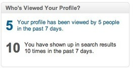 How to Interpret Your LinkedIn Profile Visitor Stats on a Free Account | Attorney Job Search In A Social World | Scoop.it