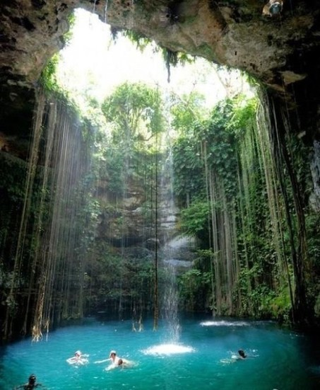 Breathtaking Swimming Spot in Mexico   The Best Places in the World to Travel   Scoop.it