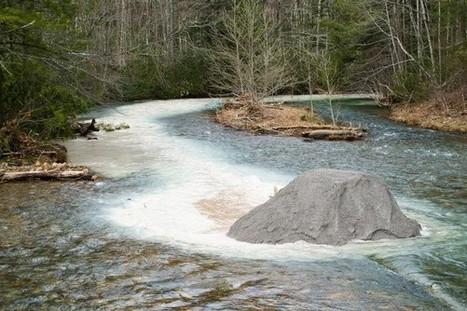 West Virginia Fights Acid Rain by Dumping Limestone Into Streams - National Geographic | pollution  geography | Scoop.it