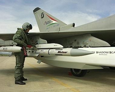 Eurofighter Makes Progress on Meteor Missile Integration | Aerospace | Scoop.it