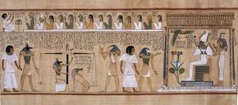 #018 ❘ Le livre des morts ❘ ANCIENNE ÉGYPTE ❘ vers 1400 av. J-C.   # HISTOIRE DES ARTS - UN JOUR, UNE OEUVRE - 2013   Scoop.it
