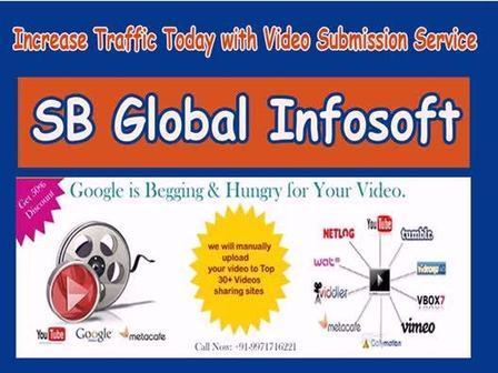 Get more traffic to your videos with our video submision services | Affortable  SEO Packages in Delhi | Scoop.it