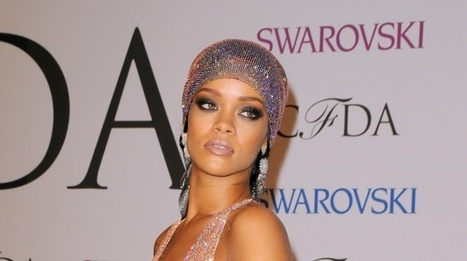 Rihanna Collects CDFA Fashion Icon Award In See-Through Dress | MTV UK | LibertyE Global Renaissance | Scoop.it