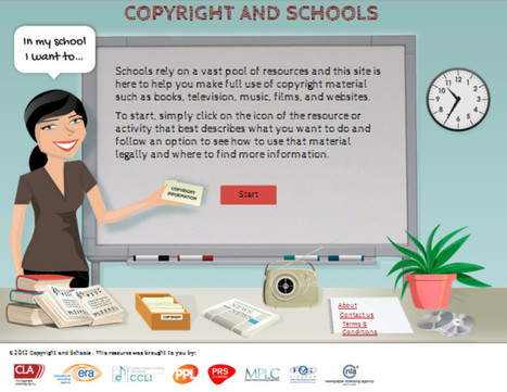 Copyright & Schools: photocopy, scan, screen or broadcast copyright resources in classrooms - simple advice for teachers | Copyright use | Scoop.it