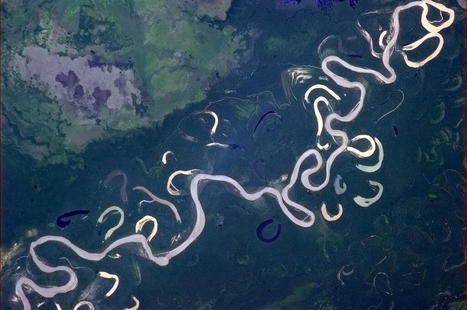 Meandering Stream | Geography Education | Scoop.it