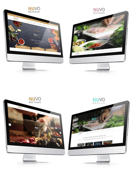 NUVO - Restaurant, Cafe & Bistro Wordpress Theme | Daily Nulled WordPress Themes & Plugins | Scoop.it
